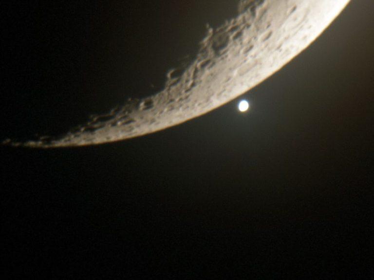 Reaparición de Venus por la luna SC 200x4000mm