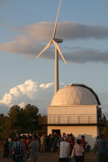 observatorio CAAT MUNTATGE TITTER
